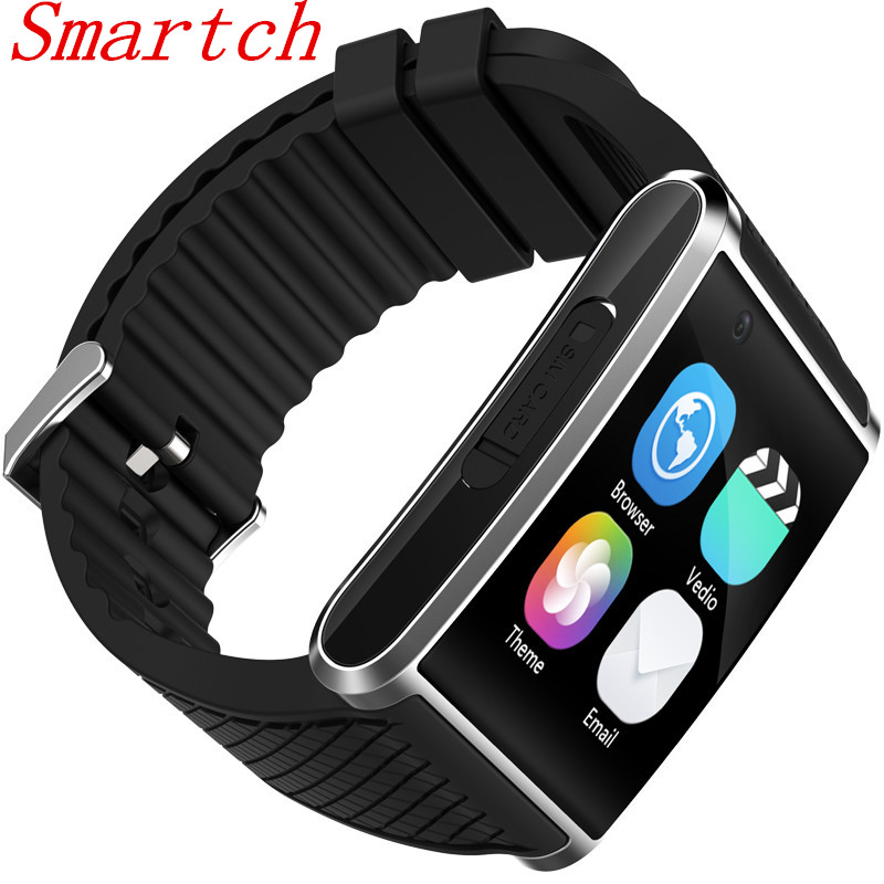 Smartch 2017 New Bluetooth 4.0 android 5.1 smartwatch X11 MTK6580 smart watch with pedometer camera WIFI GPS for xiaomi huawei S no 1 d5 bluetooth smart watch phone android 4 4 smartwatch waterproof heart rate mtk6572 1 3 inch gps 4g 512m wristwatch for ios