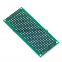 5PCS Double-Sided Protoboard Breadboard 3x7cm Universal Board 3cm x 7cm for Arduino Free Shipping Dropshipping