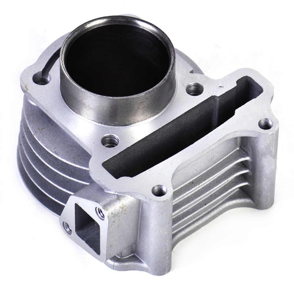 Beler 47mm Big Bore Kit Cylinder Piston Cincin untuk GY6 50cc untuk 80cc 4 Stroke Scooter Moped ATV dengan 139QMB atau 139QMA mesin