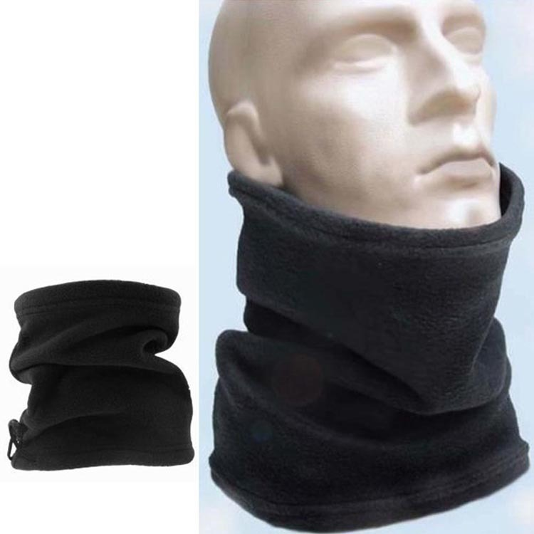 Drop Shipping Hot Sale Unisex Polar Fleece Neck Warmer Thermal Snood Scarf Hat Wear Snowboarding
