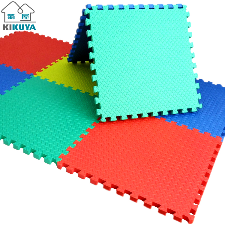 Kikuya Foam Puzzle Mat Plastic Floor