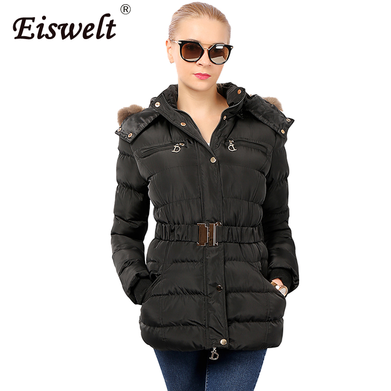 Snow Wear New 2017 Winter Jacket Women Hooded Fur Coats Thick Jacket Coat for Ukraine Cotton Padded Women's Parkas Outwear snow wear 2017 high quality winter women jacket cotton coats fur collar hooded parkas fashion long thick femme outwear cm1346