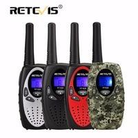 2pcs New Black Retevis RT628 Portable Radio Walkie Talkie Sets 0 5W 8CH UHF Europe Frequency