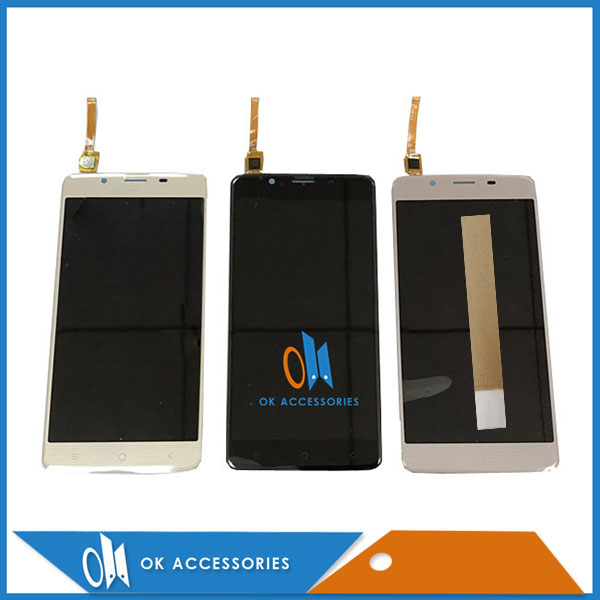 For Blackview P2 P2 Lite LCD Display+Touch Screen Digitizer High Quality Black Gray Gold Color With Tape 1PC/Lot