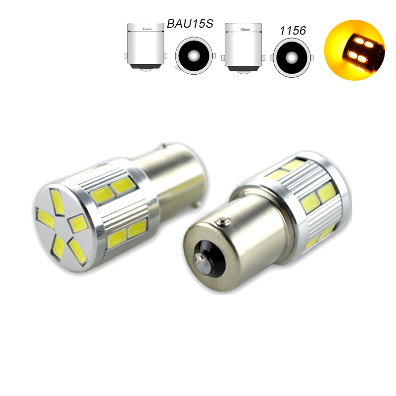 2Pcs 1156 <font><b>BA15S</b></font> P21W <font><b>LED</b></font> BAU15S PY21W BAY15D <font><b>LED</b></font> 1157 P21/<font><b>5W</b></font> <font><b>R5W</b></font> 17SMD 5630 Auto Lamp Bulbs Car <font><b>LED</b></font> Light 6V White Red Yellow image