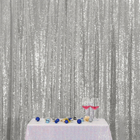 Shimmer Sequin Fabric Fashion Feast Photography Backdrop for Newborn Birthday Party Wedding Christmas Home Decoration