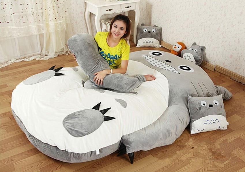 200cm x 170cm / 6.5ft x 5.5ft Giant Totoro posteljica Lepa vzmetnica - Pohištvo - Fotografija 2