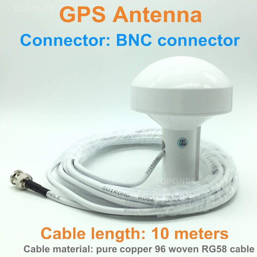 new free delivery ship with GPS navigation, positioning GPS antenna, cable 10 meters, RG58 copper shaft cable, BNC connectonew free delivery ship with GPS navigation, positioning GPS antenna, cable 10 meters, RG58 copper shaft cable, BNC connecto