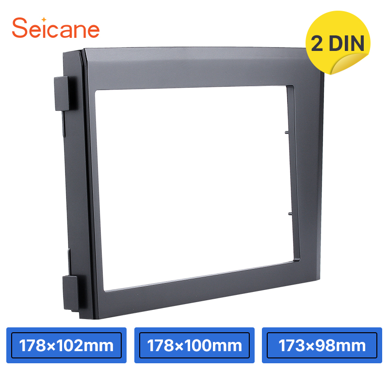 Seicane Fabulous Fascia Frame for 1998 2004 Volvo XC70 V70 S60 173 98mm Double din Dashboard