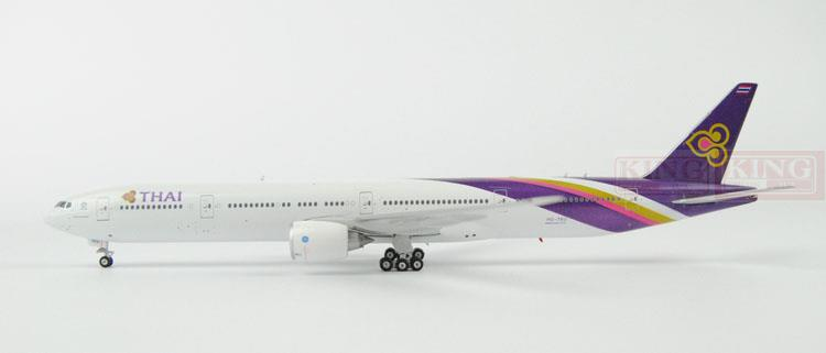 Phoenix 11088 Thailand Airlines HS-TKU 1:400 B777-300ER commercial jetliners plane model hobby spike wings xx4502 jc turkey airlines b777 300er san francisco 1 400 commercial jetliners plane model hobby