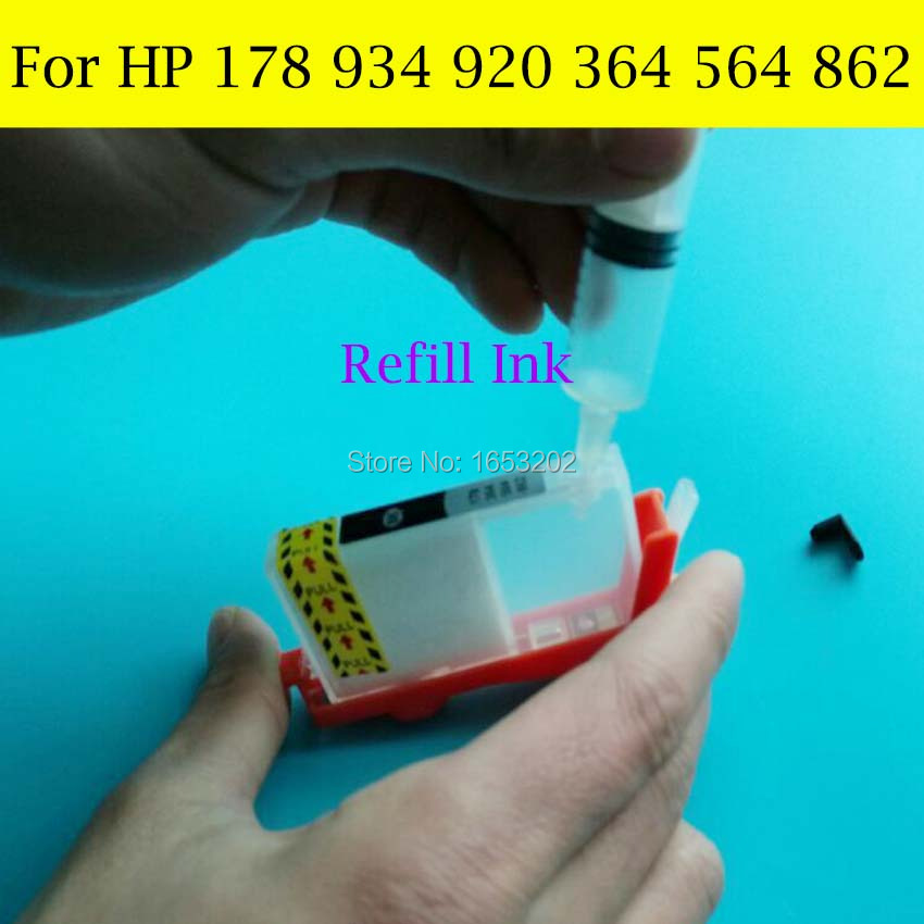 For HP 178 920 934 364 564 862 Refill Ink 2