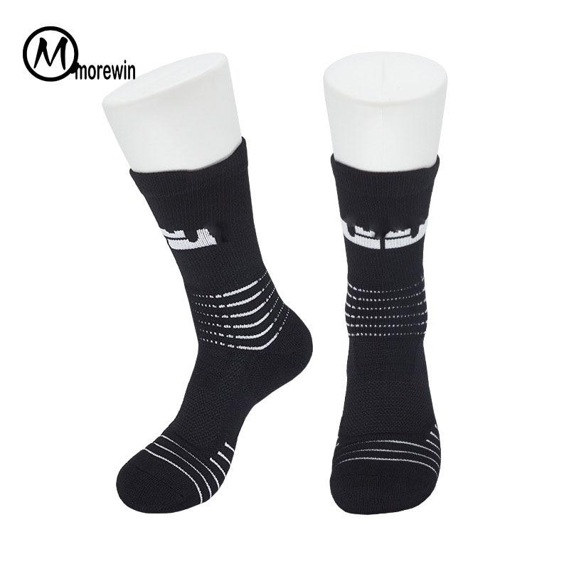 Professional Men Elite Basketball Socks Long Cotton Winter Socks High Helmet Towel Bottom Thicker Soccer Socks Cycling Socks