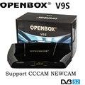 Nova Chegada V9S OPENBOX DVB-S2 HD Receptor de Satélite Suporte USB Porta WEB TV CCCAMD NEWCAMD Miracast Caixa de IPTV Set Top Box PK V7