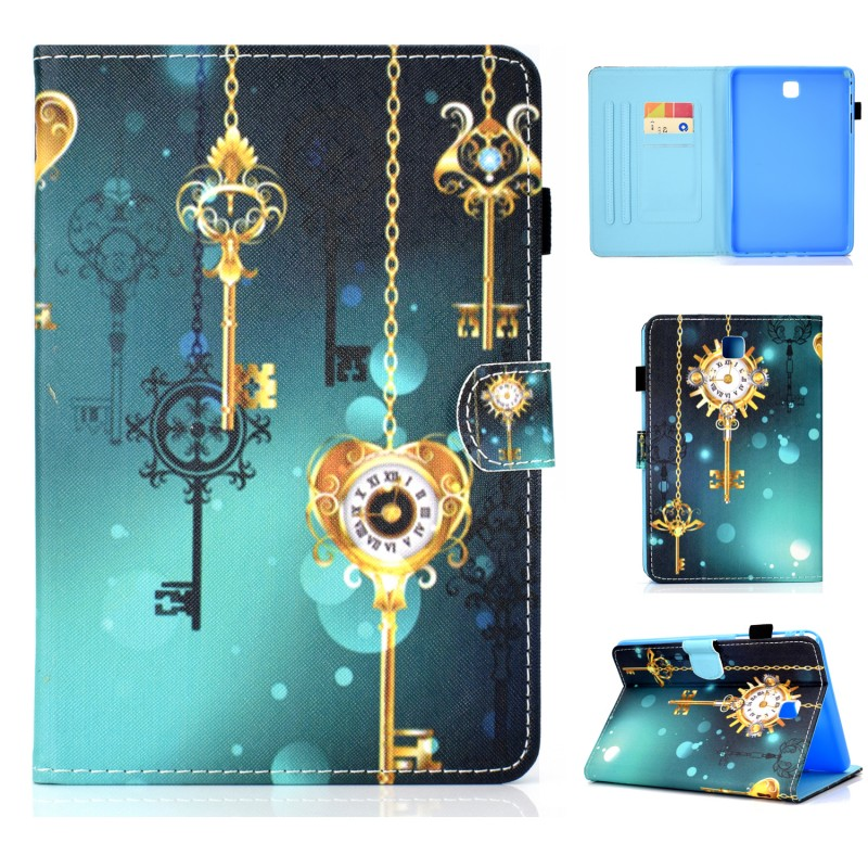 Case For Samsung Galaxy Tab A 8.0 T350 T355 Case Cartoon Unicorn Cat Pu Leather Stand Cover For Samsung T350 T351 T355 Case