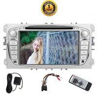 Eincar 7 двойной 2 Din автомобильный DVD мультимедийный проигрыватель для 2012 Ford Mondeo и фокус модели и классический после 2012. Octa Core 2 ГБ