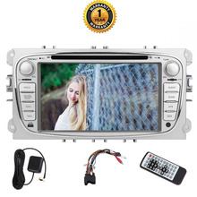 Eincar 7″ Double 2 Din Car DVD Multimedia Player For 2012 Ford Mondeo and Focus Model and the Classic after 2012. Octa Core 2GB