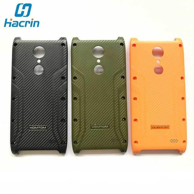 HOMTOM HT20 Case HOMTOM HT20 Pro Battery Case Original High Quality Battery Cover Replacement With Homtom Logo for HOMTOM HT20