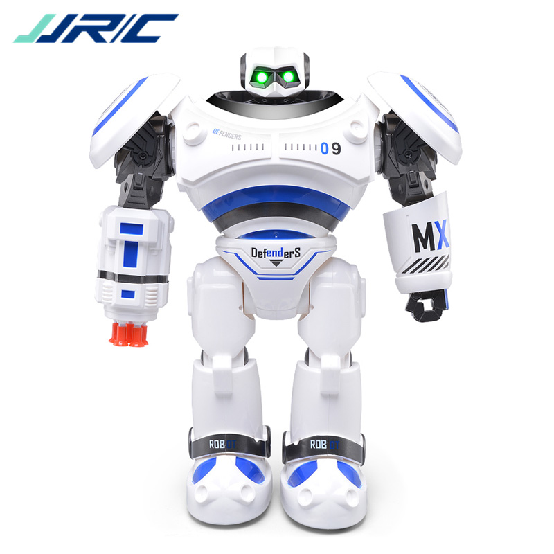 Original JJRC R1 Defender Intelligent RC Dancing Robot Programmable Movement Remote Control Toy for Kids Birthday Present VS R2 kids toy space dancing robot lz444