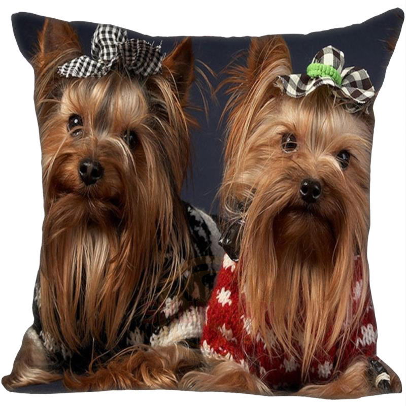 H+P#292 New Hot Custom Pillowcase yorkshire #8 soft 45x45 cm (Twin sides) Pillow Cover Zippered SQ01003@H0292
