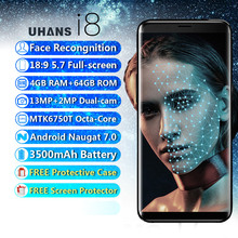 Face Recognition 5.7″ Smartphone UHANS I8