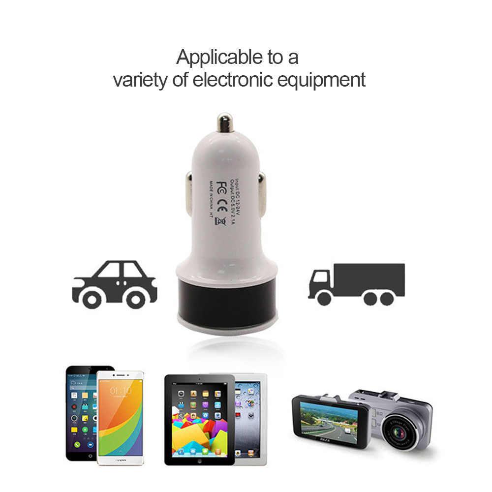 شاحن سيارة USB صغير للجوال هاتف لوحي GPS 3.1A سريع شاحن سيارة-شاحن المزدوج USB سيارة مهايئ شاحن الهاتف انخفاض الشحن