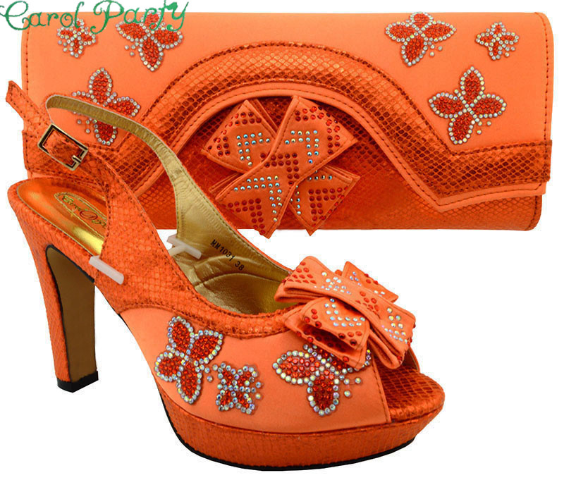 Italian Matching Shoes and Bag Set African Women Italian Shoe and Bag Set Decorated with Rhinestone MM1031 italian shoe with matching bag set for wedding african matching shoe and bag set with stones high quality women pumps red gf24