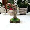 Comercio al por mayor 4 Unidades Por Lote Columpio No Batería Novedad Regalos del Día de Los Niños de Dibujos Animados Shrek Juguetes Feliz Bailando Solar burro