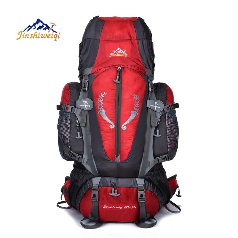 Large 85L Outdoor Backpack Travel Multi purpose Climbing Backpacks Hiking Big Capacity Rucksacks Camping Waterproof Sports