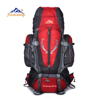 Free Shipping Multi Purpose Fashion Outdoor Climbing Backpacks 85 L Big Capacity Camouflage Double Backpack Camping