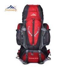 Gran 85L Mochila multiusos del Recorrido Al Aire Libre de escalada mochilas de Senderismo de gran capacidad Mochilas de camping bolsas de deporte