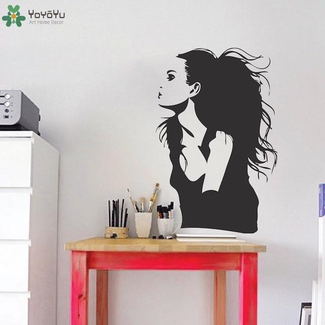 US $5.03 25% OFF|Filmstar Angelina Jolie Wandaufkleber Berühmte Portrait  Vinyl Wandtattoo Schauspielerin Mädchen Schönheitssalon Decor Abnehmbare  Art ...