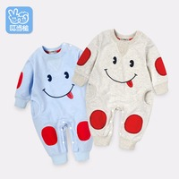 Newborn Clothes 0 18months Baby Cotton Baby Spring Autumn Wear Long Sleeves Cartoon Clothes Infant Jumpsuits