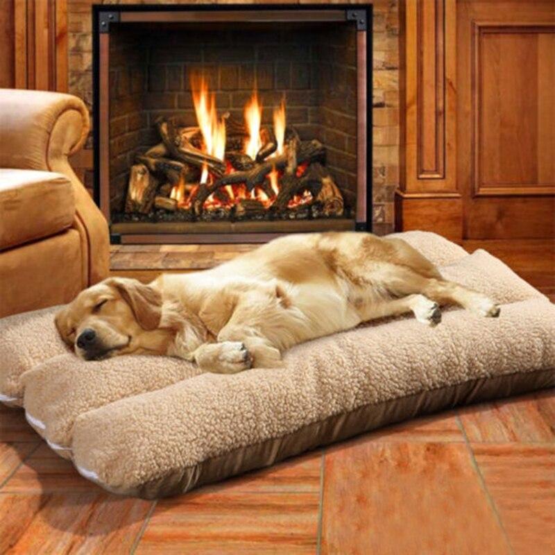 Huisdier Mat Hond Katten Kussen Warme Winter Afneembare Zachte Slapen Bed Kussen Matras Hoge Veiligheid