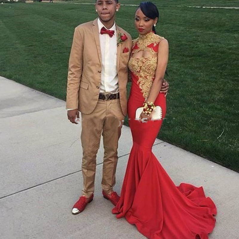 Red And Gold Prom Suits My Dress Tip