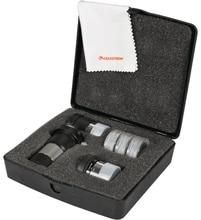 Celestron ASTROMASTER набор аксессуаров включает 2X линза Барлоу мм 6 мм Ploss 15 мм Kellner окуляр #25 # 80A фильтр лунный фильтр