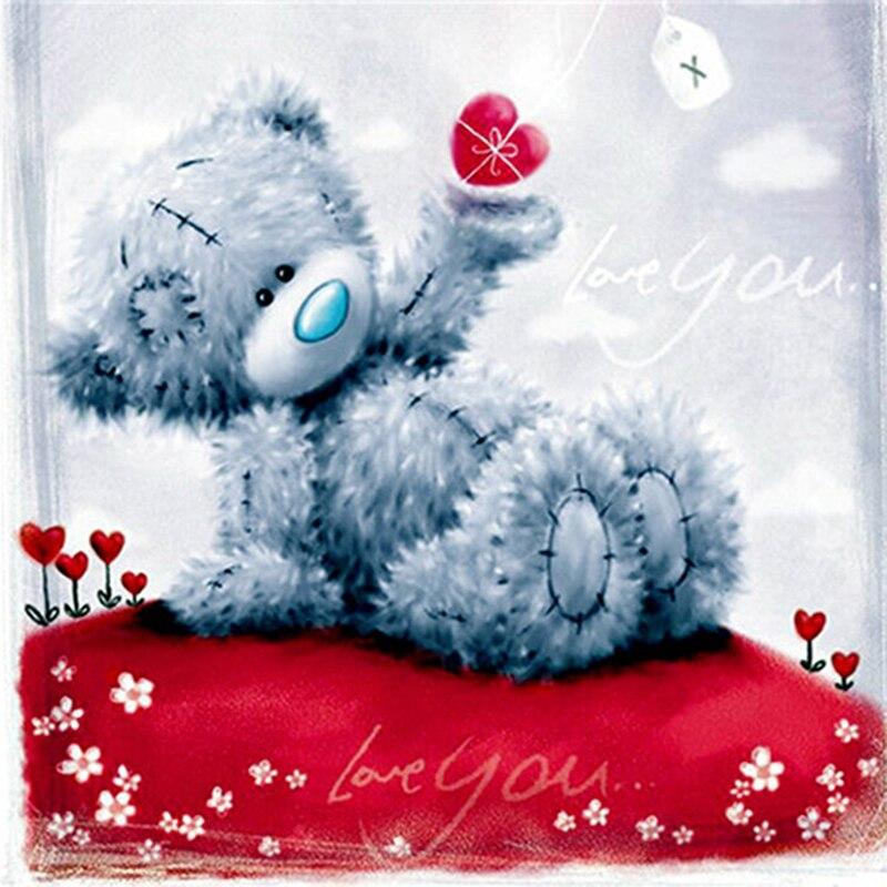Спокойной ночи цветы картинки мишки