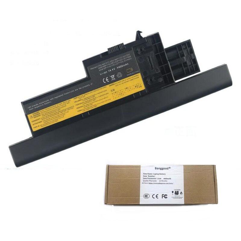 5200 мАч 8 сотовый ноутбука Батарея для IBM ThinkPad X60 X60S X61 X61s