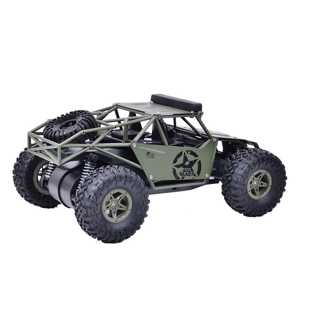 Image 3 - 2019 Remote control car toy BG1527 2.4G 1/16 4WD Military Truck Off road Climbing Alloy RC Car RTR Remote control car toy-in RC Cars from Toys & Hobbies