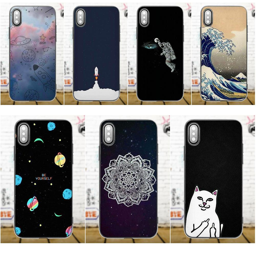 Merry Go Round Planet Space Alien Sky TPU Protective For Xiaomi Redmi 5 4A 3 3S Pro Mi4 Mi4i Mi5 Mi5S Mi Max Mix 2 Note 3 4 Plus