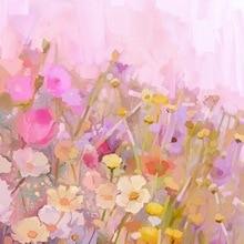 Floral fotografía telón de fondo vintage acuarela flores photobooth fondo para recién nacido Niño Studio foto backdrops D-7900
