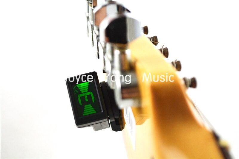 JOYO JT-306 Mini Digital Tuner Headstock Tuner For Acoustic Electric Guitar Bass Free Sh ...