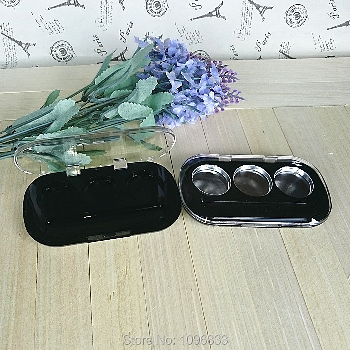 3 Pachet Pulbere Pulbere, Fard de Ochi Container, Gol Empty Cosmetic - Instrumente pentru îngrijirea pielii