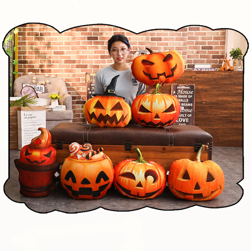 Halloween Party Witch Pumpkin Christmas Pillow Case Cushion Cover Sofa Happy Halloween Decoration For Home Kid Gift XmasHalloween Party Witch Pumpkin Christmas Pillow Case Cushion Cover Sofa Happy Halloween Decoration For Home Kid Gift Xmas