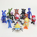 NEW 12Pcs/Set 5-11.5cm Five Nights At Freddy's figure FNAF Chica Bonnie Foxy Freddy Fazbear Bear Doll PVC Action Figures Toy