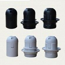 1 шт., высокое качество, белые, черные, 2A 250V E27/E14 карточки, держатель лампы CE сертификация, e14 e27 разъем