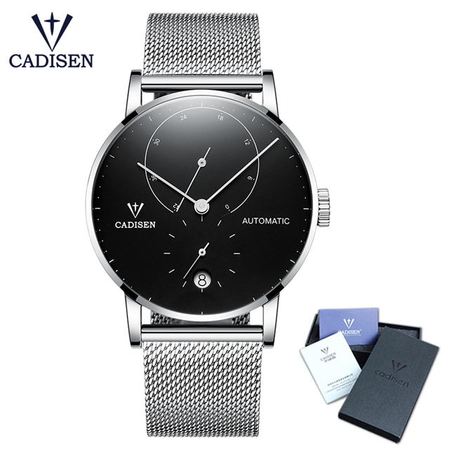 2018 Men Watches Automatic Mechanical Watch Male Ultra Thin Dial Stainless Steel Band Waterproof Clock Top Brand Men Wristwatch 2017 black rose gold winner men watch cool mechanical automatic wristwatch stainless steel band male clock skeleton roman dial