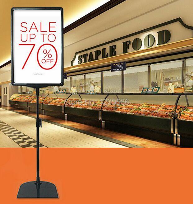 2 piezas envío gratis supermercado pop cartel de publicidad pantalla estante A4 marco Etiqueta de precio señal promociones tarjeta mostrando titular-in Montura from Hogar y Mascotas    1