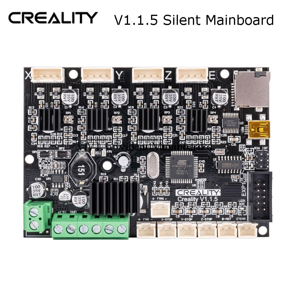Original Fabrik Liefern Creality 3D Neueste Upgrade Motherboard Stille 1.1.5 Mainboard Für Ender-3/Ender-3Pro 3D Drucker