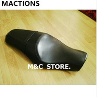 Motorcycle Soft Full Artificial Length Driver Passenger Tour Seat For Harley Sportster XL883 N XL1200 N Iron