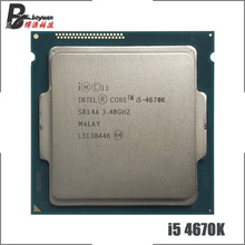 Intel Core i5-4670K i5 4670 K I5 4670 K 3.4 GHz Quad-Core Quad-Thread 84W 6M CPU Processor LGA 1150